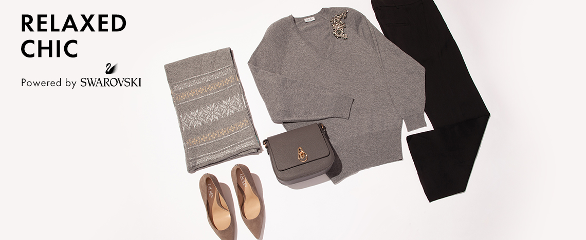 Relaxed chic